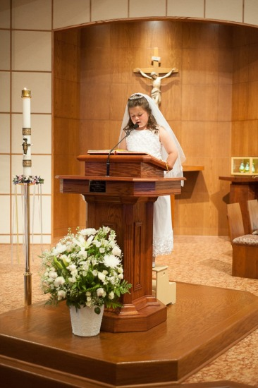 Shelby Ann's First Communion