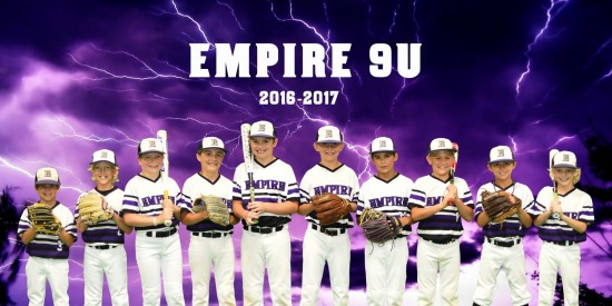 Empire 9U Team and Individual Photos